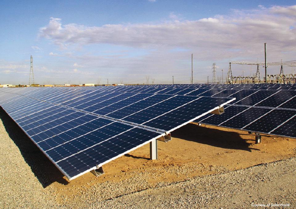 3 5 - نیروگاه خورشیدی