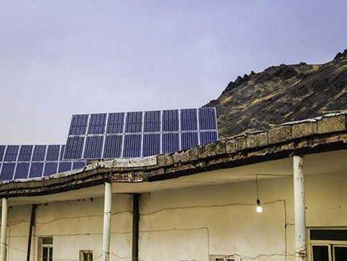 انرژی خورشیدی در روستای سیچانلوی قزوین