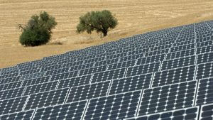 نیروگاه خورشیدی بزرگ مقیاس