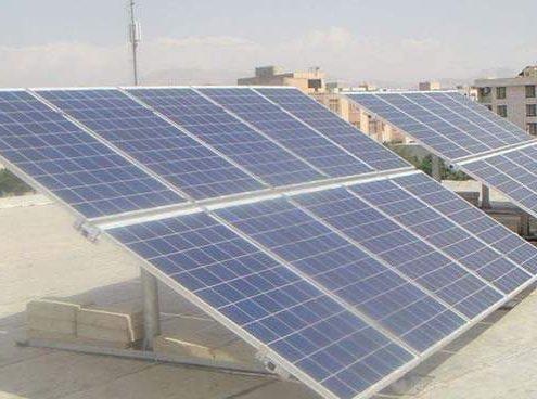 نیروگاه خورشیدی کوچک مقیاس