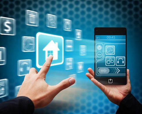 خانه هوشمند 495x400 - خدمات هوشمند سازی