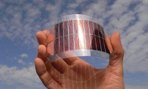 سلول های خورشیدی آلی 1 300x182 - flexibles_organisches_Solarzellenmodul