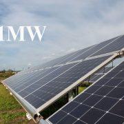 نیروگاه خورشیدی 1مگاوات