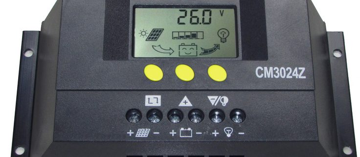 کنترل کننده شارژ خورشیدی
