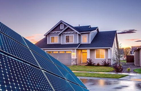 بررسی میزان بهره وری انرژی خورشیدی در خانه