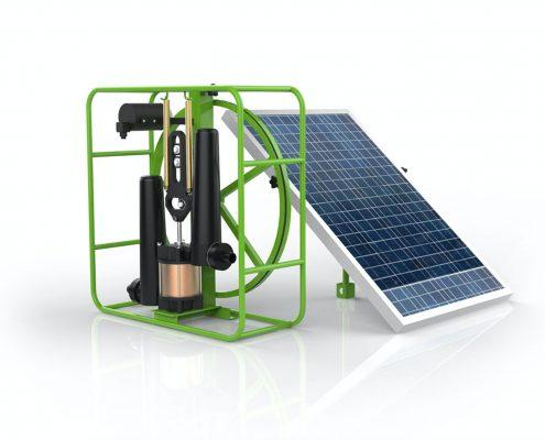 چگونه-یک-پمپ-خورشیدی-کار-می-کند؟