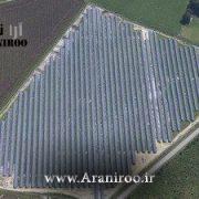 نیروگاه برق خورشیدی100مگاواتی در جنوب USA