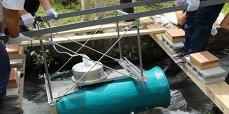 ساخت توربین آبی مقیاس کوچک