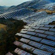 نصب پنل خورشیدی روی کوه های کشور تایوان