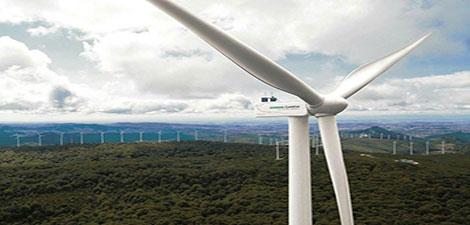 نیروگاه بادی ۲۰۱ مگاواتی شرکت زیمنس