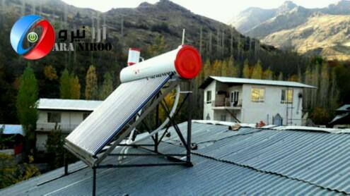 تعداد ۷۵ عدد آبگرمکن خورشیدی در شهر کرمان توضیع و نصب شد
