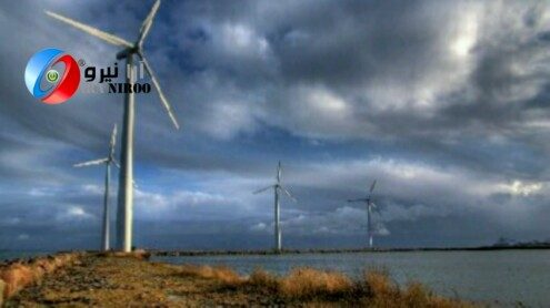 تولید پره های توربین بادی در دانشگاه فردوسی مشهد