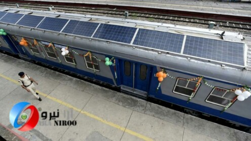 اولین مترو، که سوخت خود را از انرژی پاک تامین می کند