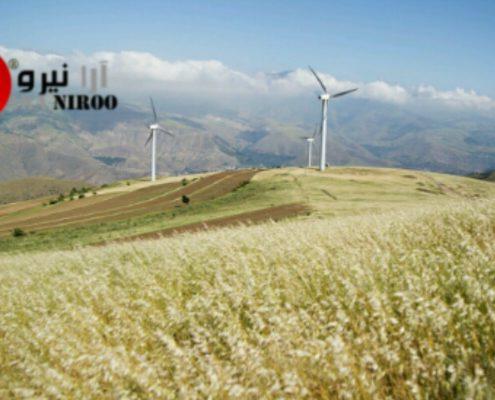 شرح توربین بادی در شهرستان منجیل 495x400 - قرداد خرید برق ۳.۹ گیگاواتی در آمریکای شمالی