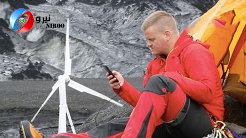 توربین بادی مخصوص کوه نوردی