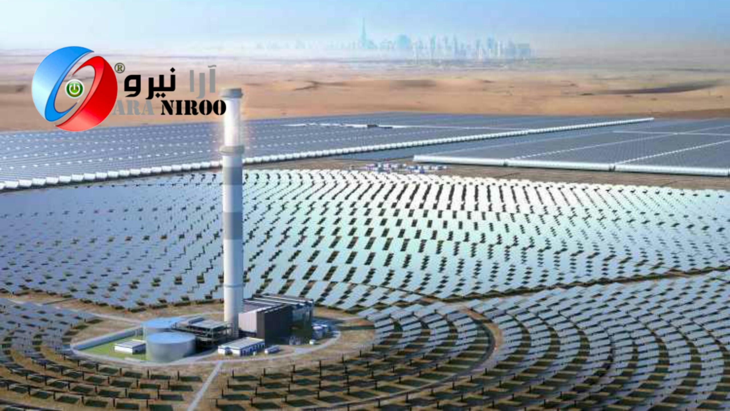 نیروگاه خورشیدی ۱۳٫۶ میلیارد دلاری در بیابانهای دبی 1 - نیروگاه خورشیدی در بیابانهای دبی