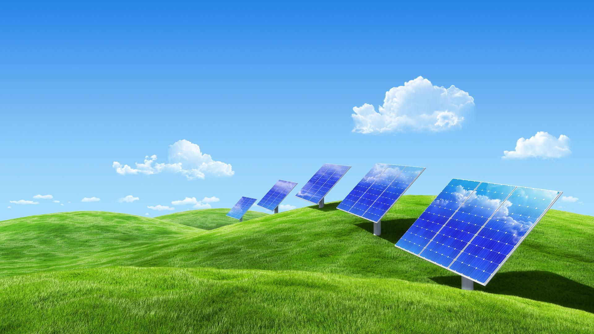 پنل خورشیدی انرژی پاک، مناسب برای محیط زیست - سرمایه گذاری در پنل خورشیدی