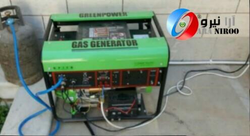 موتور برق گازسوز چیست ؟ - موتور برق گاز سوز