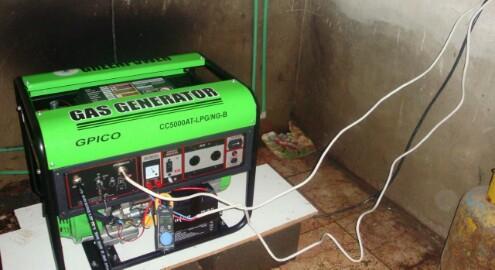 نحوه استفاده از موتور برق - موتور برق گاز سوز