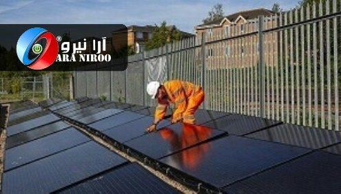 انرژی خورشیدی در خطوط راه آهن