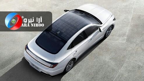 تولید خودروهایی با پنل خورشیدی