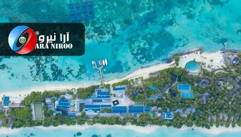 پهناور ترین نیروگاه خورشیدی دریایی