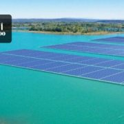 نیروگاه خورشیدی بزرگ شناور در فرانسه