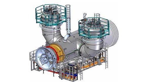 Combined cycle power plant 495x281 - نیروگاه خورشیدی | نیروگاه گازی