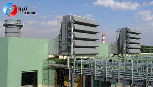 نیروگاه گازی در جاده مشهد